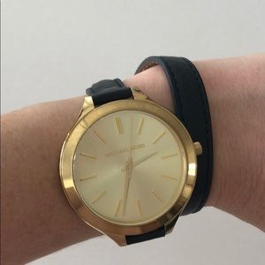 Michael Kors wrap watch